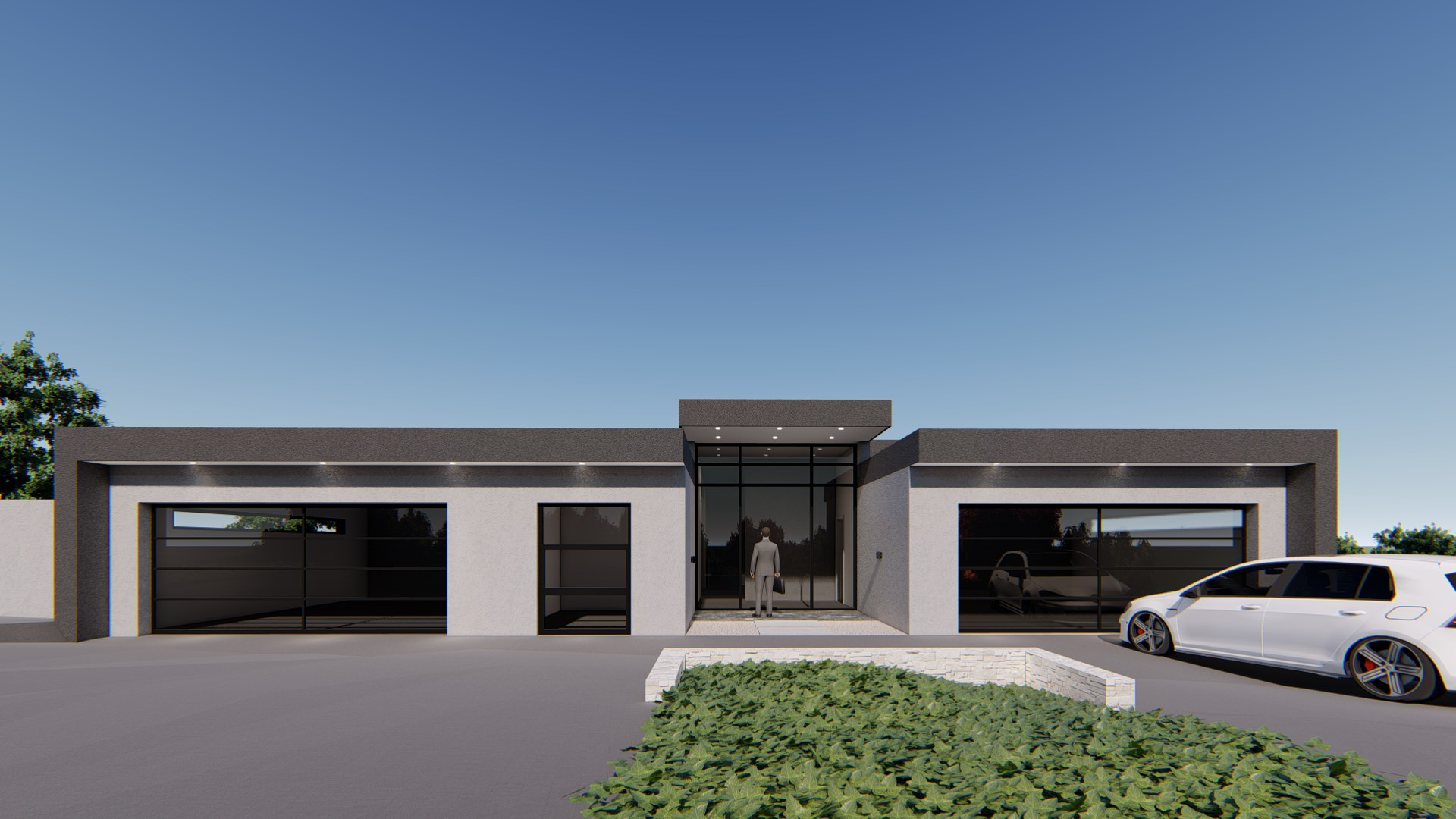 House vn single story gauteng architecture · gallery